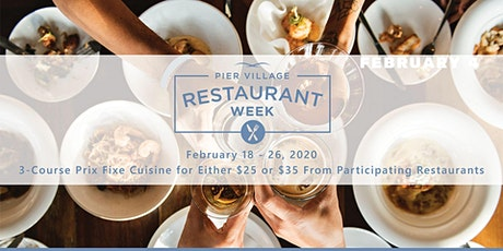 Pier Village Restaurant Week tickets