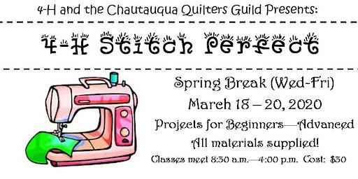 2020 Stitch Perfect Sewing Camp