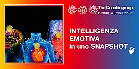 """Workshop """"Intelligenza Emotiva in uno snapshot"""" biglietti"""