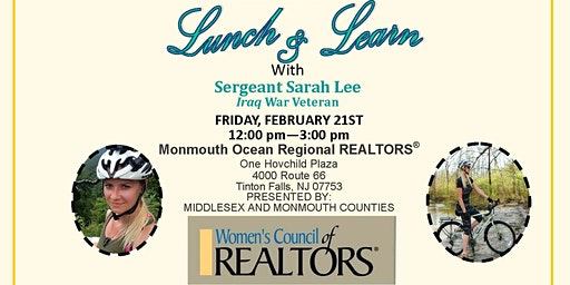 Lunch & Learn with Sergeant Sarah Lee