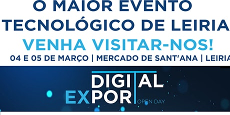 Digital Export Open Day bilhetes