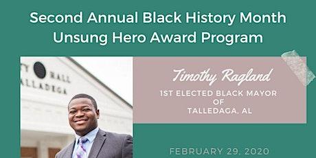 2nd Annual Black History Unsung Hero Gala tickets
