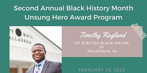 2nd Annual Black History Unsung Hero Gala