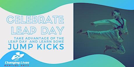 Leap Day Jumping Kicks Class tickets