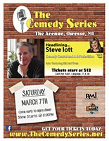 Comedy at The Avenue - Steve Iott