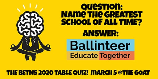 BETNS Table Quiz 2020