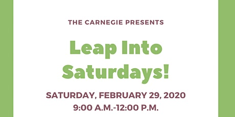 Leap into Saturdays! tickets