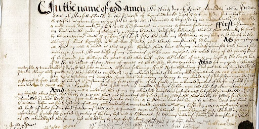 Palaeography - Reading old handwriting