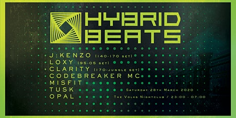Hybrid Beats - J:Kenzo, Loxy, Clarity, Codebreaker MC + Guest Sound System tickets
