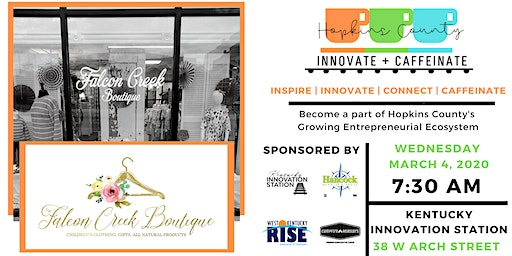 Hopkins County Innovate + Caffeinate | Falcon Creek Boutique