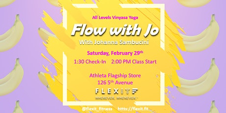 FlexIt x Athleta: Flow With Jo Yoga Class tickets