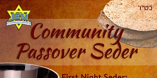 Passover Seder - JEM Los Angeles Beverly Hills 2020