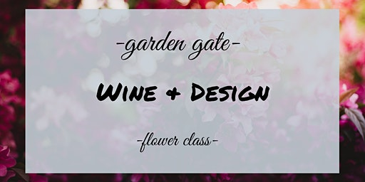 Wine and Design at Gina's Cafe