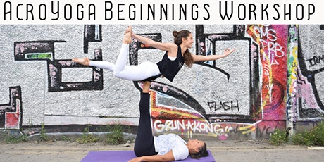 AcroYoga Beginnings Workshop tickets