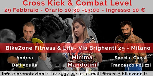 Stage Cross Kick & Combat Level