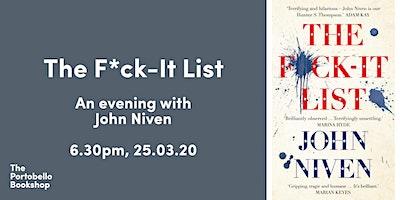 John Niven's The F*ck-It List
