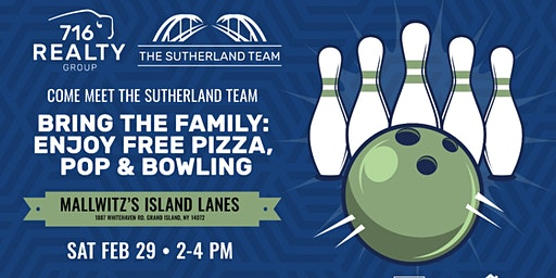 The Sutherland Team Client Appreciation Bowling Party