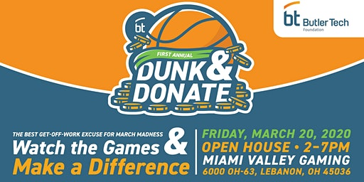 Butler Tech Foundation Dunk & Donate Fundraising Event