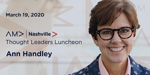 AMA Nashville Marketing Thought Leaders Luncheon: Ann Handley