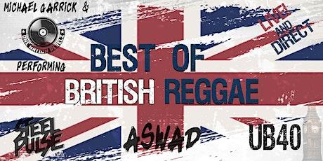 Live! Best of British Reggae tickets