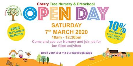 Cherry Tree Nursery & Preschool Open Day tickets