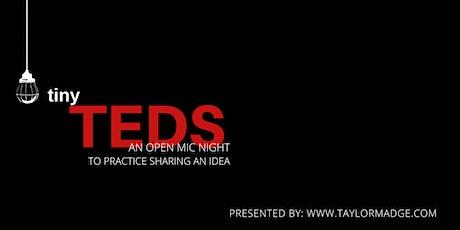 tiny TEDS tickets