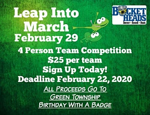 Leap Into March Team Competition tickets