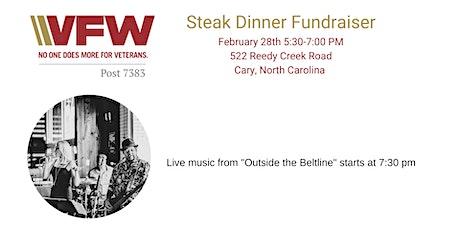 Steak Dinner Fundraiser & Live music tickets