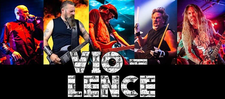 VIO-LENCE in Portland - NORTHWEST EXCLUSIVE APPEARANCE- FINAL DATE TBD image