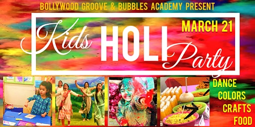 Kids' Holi Celebration