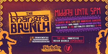 POSTPONED: The Bhangra Brunch - Birmingham - NEW DATE TBH. SEE EVENT INFO tickets