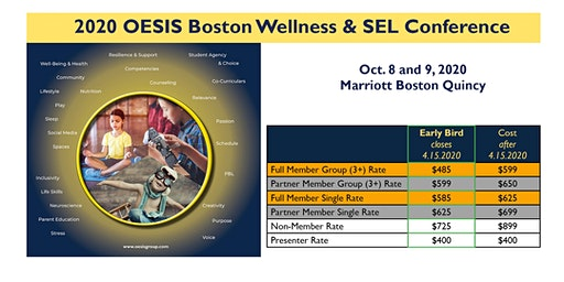 OESIS Boston 2020 Student Wellness & SEL Conference: October 8th & 9th 2020
