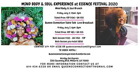 Mind, Body, & Soul Experience Essence Festival 2020 tickets