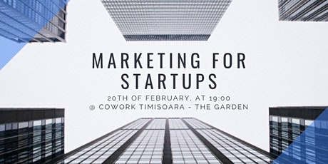 Startup Coffee - Marketing for Startups tickets