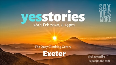 YesStories Exeter tickets