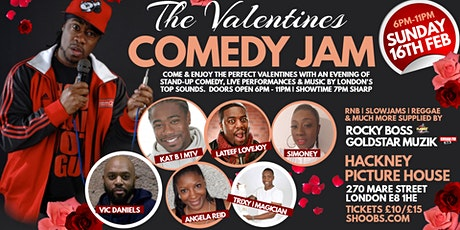 VALENTINES COMEDY JAM | HACKNEY PICTURE HOUSE | STAND-UP COMEDY & MUSIC tickets
