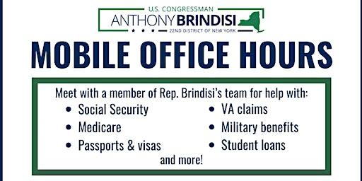 Rep. Brindisi's Mobile Office Hours - Pulaski