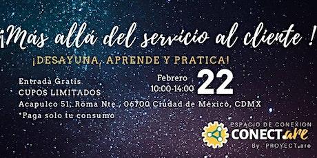 Networking de emprendedoras Conect.are 4: Más allá de Servicio al Cliente. entradas
