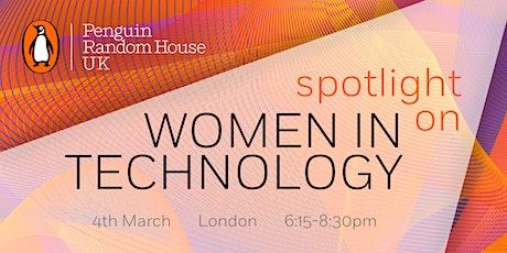 Spotlight on Women in Technology tickets