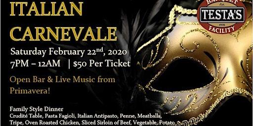 Italian Carnevale Dinner Dance