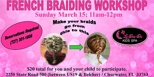 Beginner French Braid Workshop