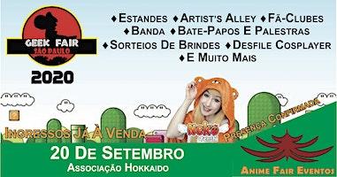 Geek Fair São Paulo 2020