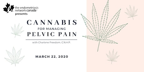 Cannabis for Managing Pelvic Pain tickets
