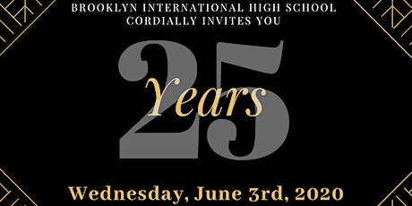 Brooklyn International High School's 25th Anniversary Gala tickets