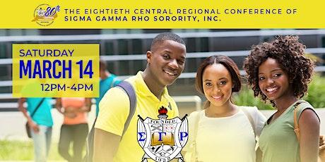 Sigma Gamma Rho Sorority, Inc. - Central Region Youth Symposium tickets