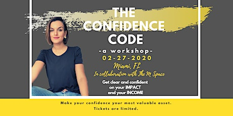 The Confidence Code - A Workshop tickets