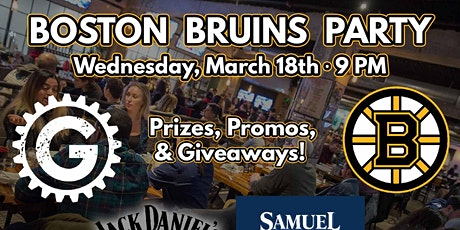Boston Bruins Watch Party tickets