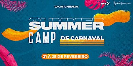 Summer Camp de Carnaval ingressos