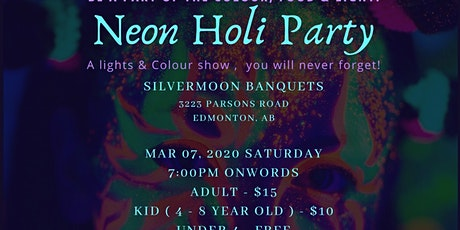 Neon Holi Party tickets