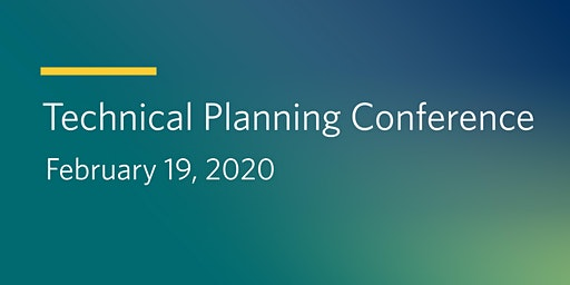2020 Technical Planning Conference